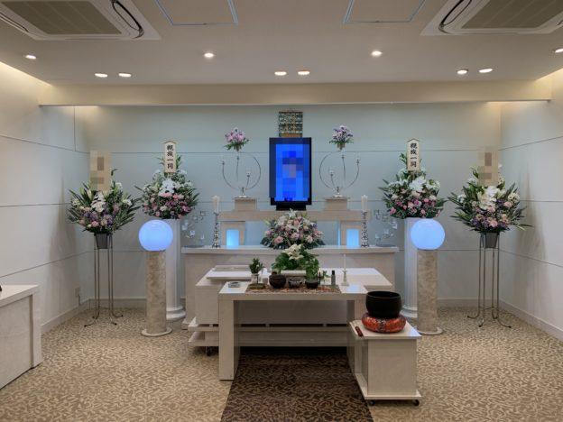 堺市南区桃山台Y様 家族葬専用ホールメモリアル堺での小さな家族葬