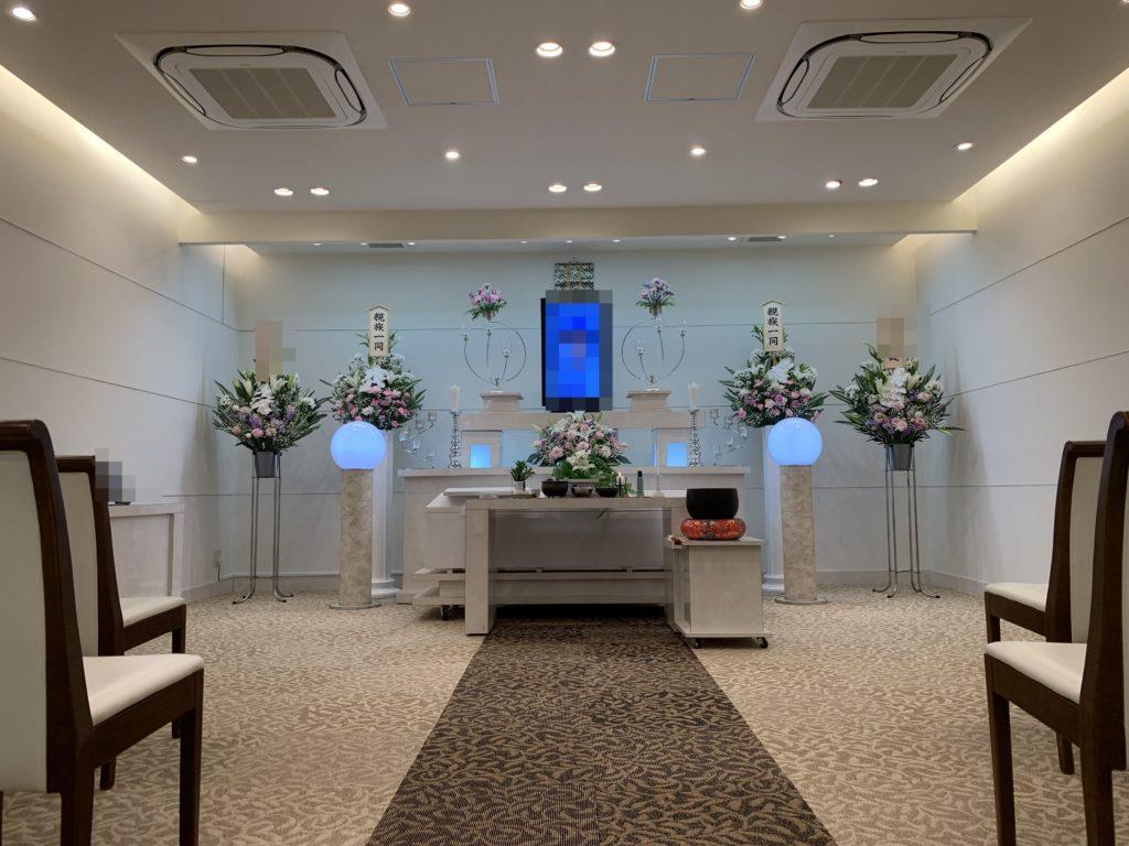 家族葬専用ホールメモリアル堺 式場
