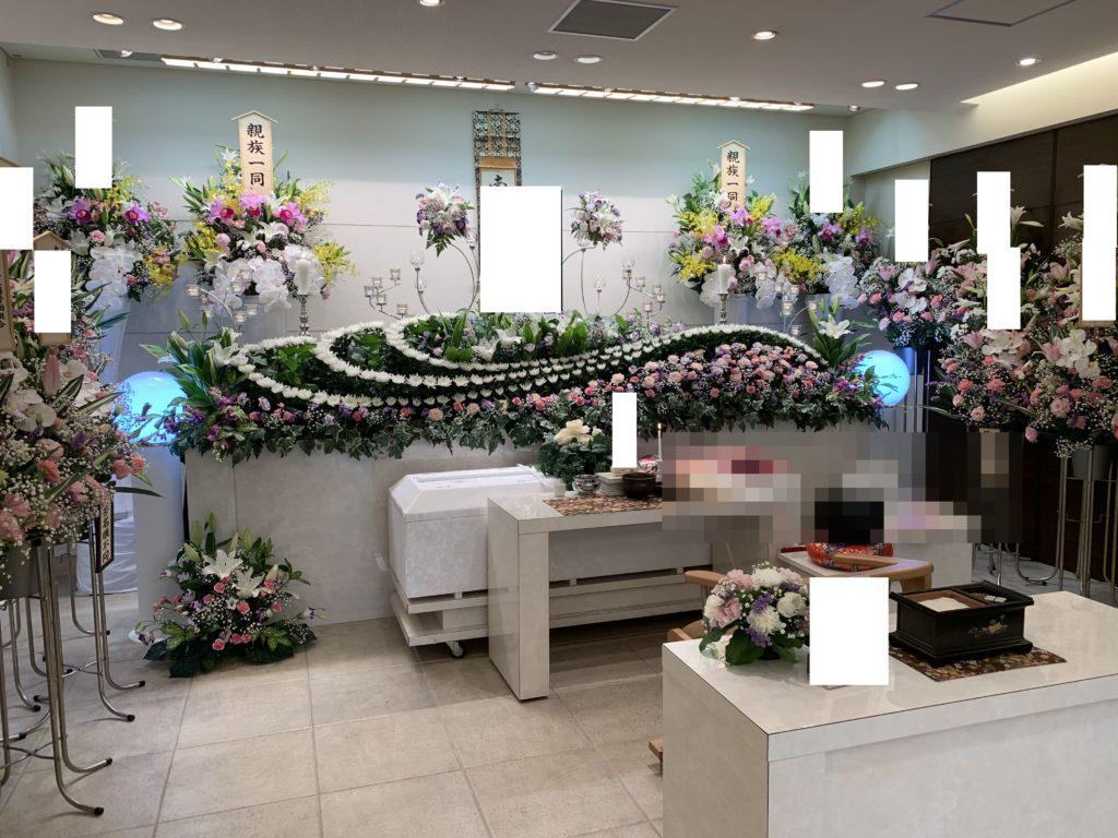 堺市 オリジナル生花祭壇