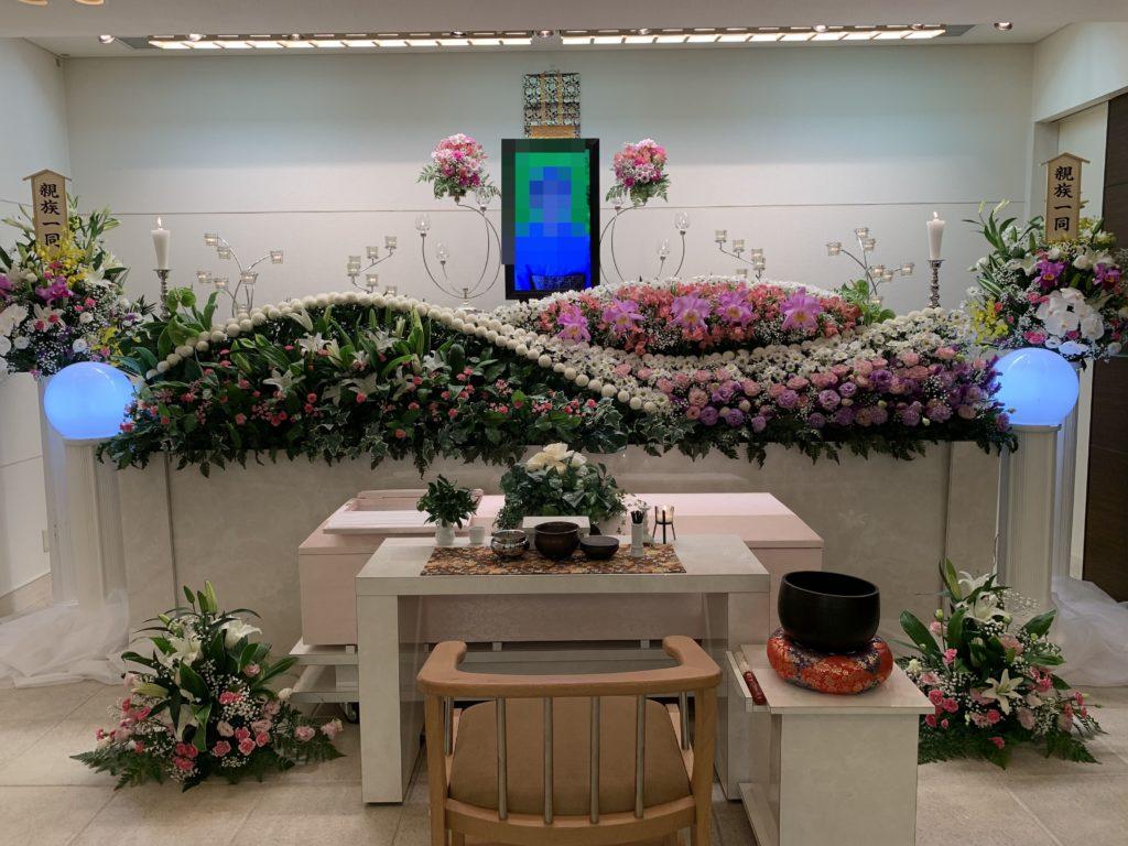 堺市中区 生花祭壇