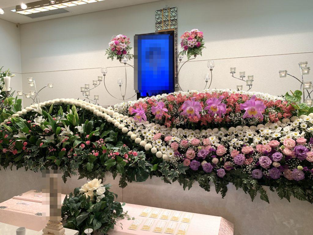 堺市 生花祭壇