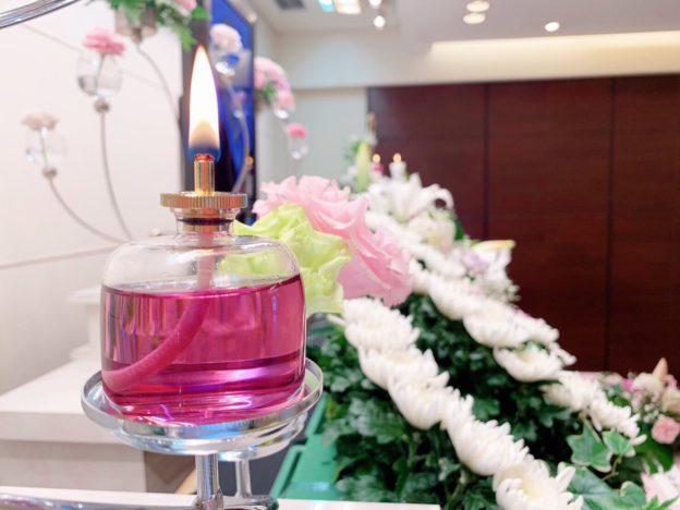 平成31年3月17日 メモリアル堺 灯祭壇 リキッドキャンドル