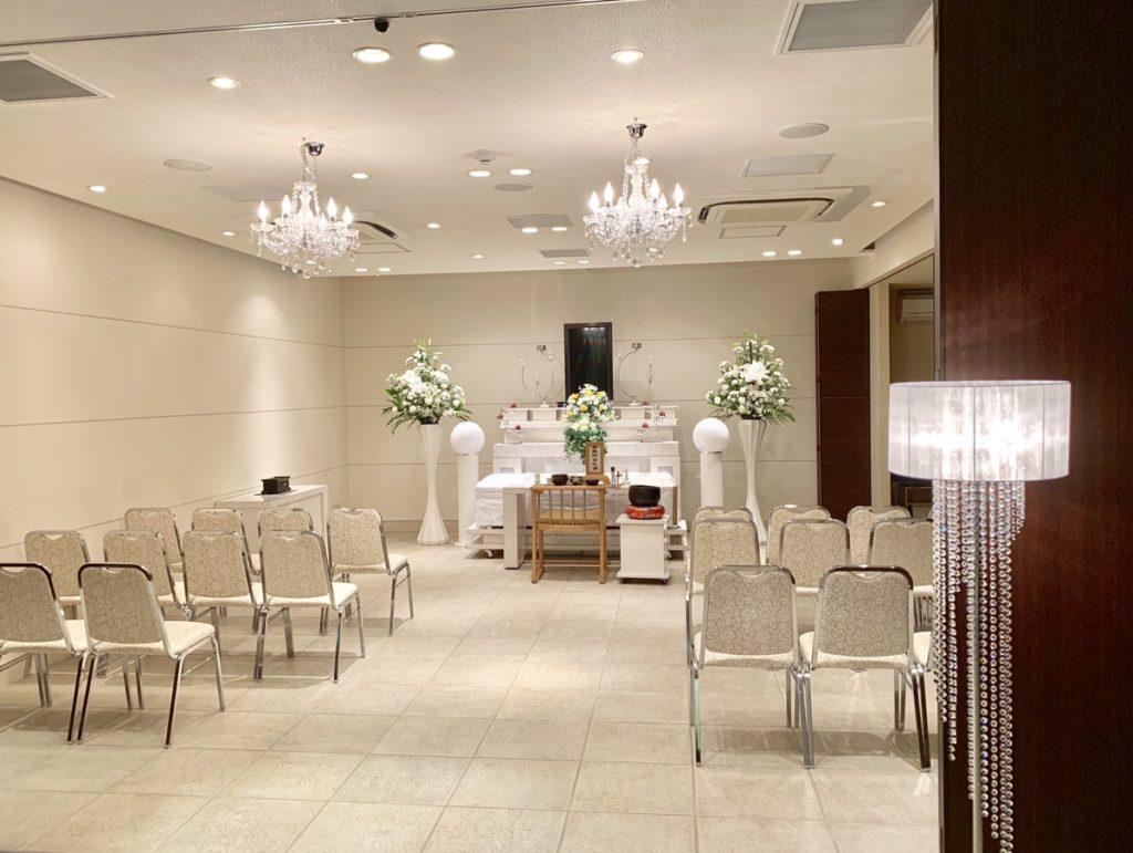 メモリアル堺 あかり祭壇【堺市 家族葬】