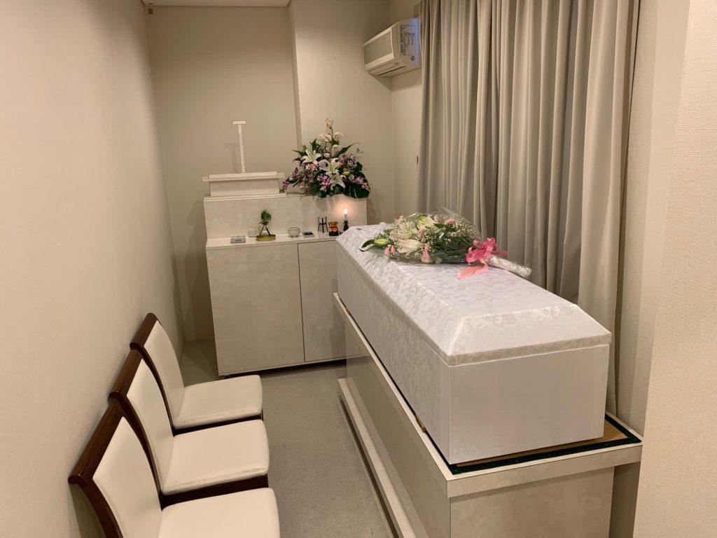家族葬専用ホールメモリアル堺 霊安室