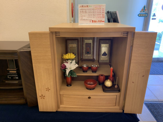 メモリアル堺では仏壇・仏具もご用意しております!